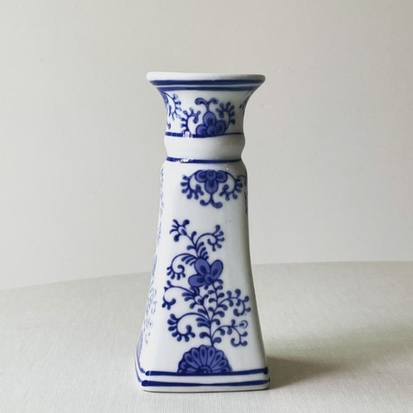 Vintage Chinoiserie Candlestick Holder
